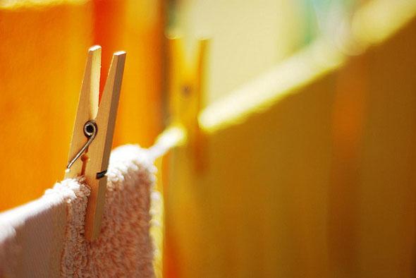 Pinzas para tender la ropa