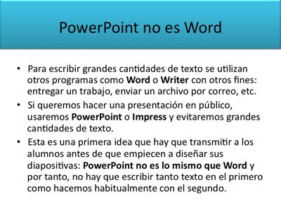 Diapositiva con exceso de información
