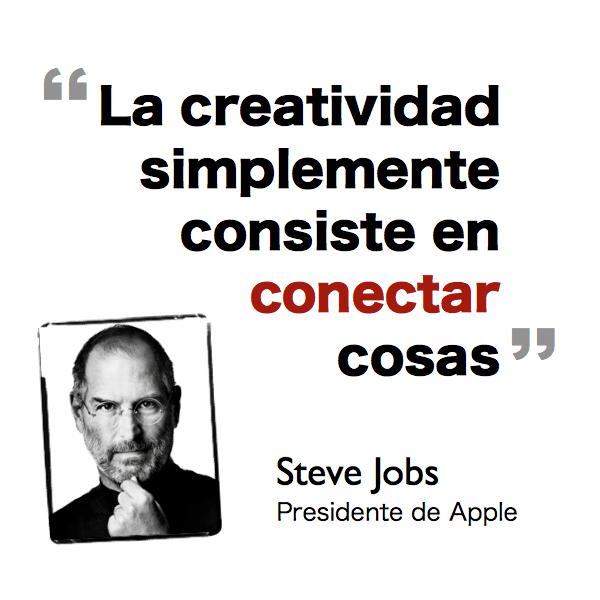 Steve Jobs sobre creatividad
