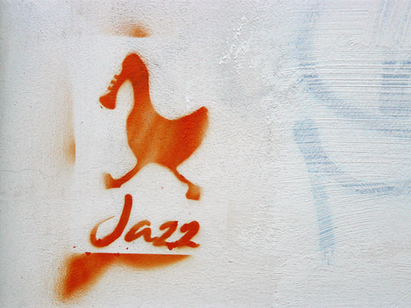 Graffiti sobre Jazz