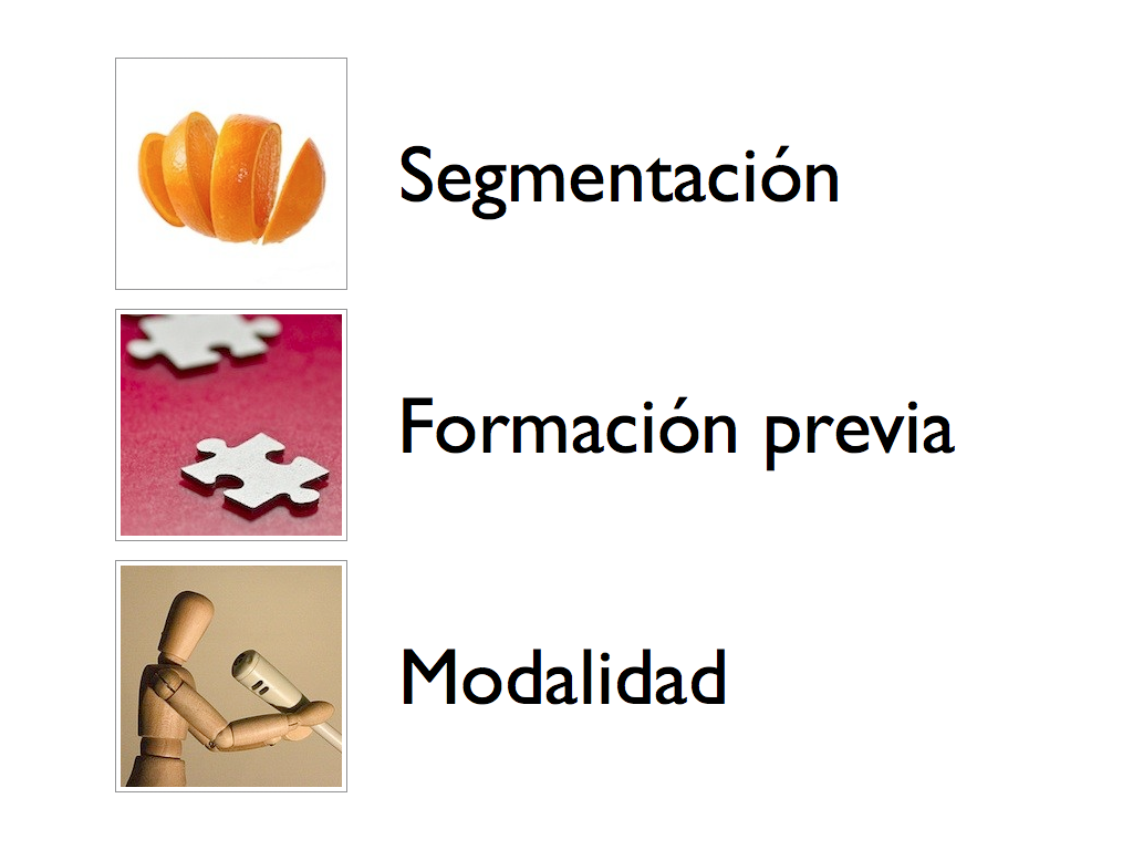 3 principios aprendizaje multimedia