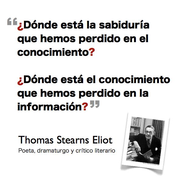 El exceso de información nos pierde