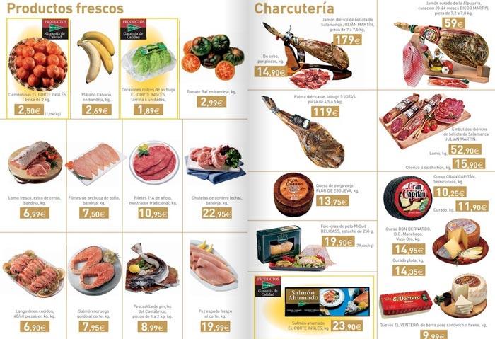 Catálogo de alimentación