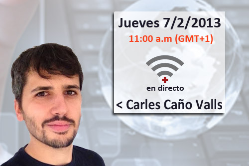 Cartel vídeo-charla de Salud Conectada
