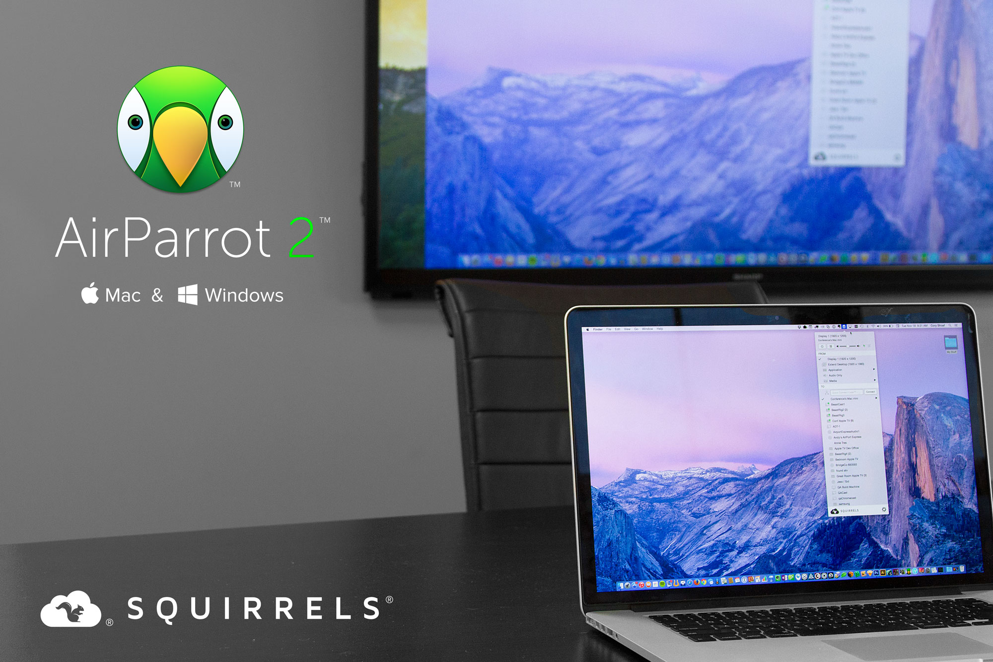 AirParrot 2 para Mac y Windows