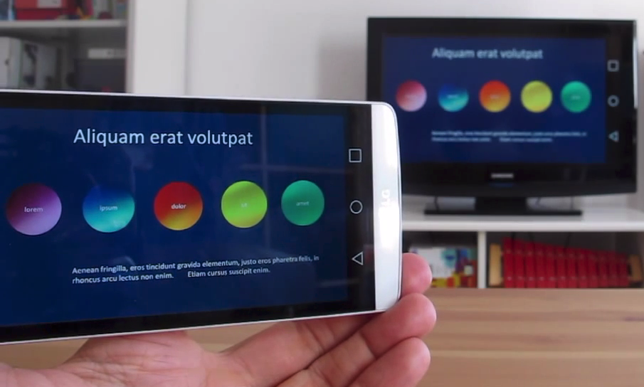 Chromecast y PowerPoint