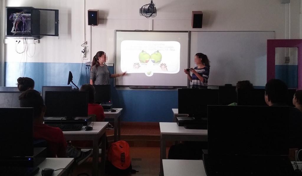 Presentaciones con demos de apps Android con mirroring Chromecast
