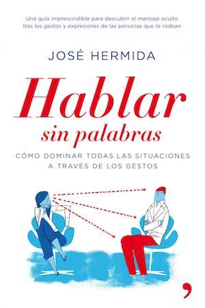 """Portada de libro """"Hablar sin palabras"""" de Jose Hermida"""